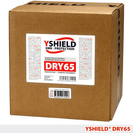 Экранирующая порошковая краска  YSHIELD DRY65_dry_mixture_for_the_preparation_of_a_shielding_paint_yshield_dry65_information_security