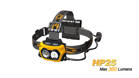 Фонарь осветительный налобный Fenix HP25_lantern_lighting_headlamp_fenix_hp25_information_security
