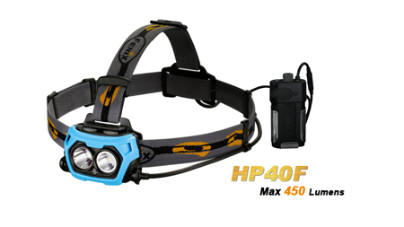 Фонарь осветительный налобный Fenix HP40F_lantern_lighting_headlamp_fenix_hp40f_information_security